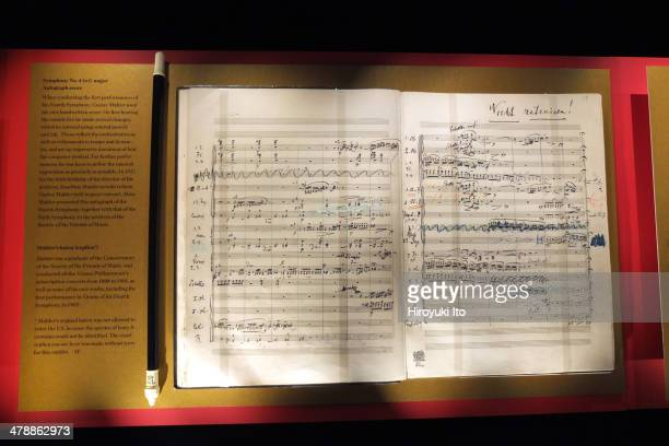 'Vienna's Musical Giants Treasures From the Gesellschaft der Musikfreunde' at Carnegie Hall's Rose Museum on Friday night February 28 2014It is part...