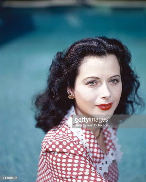 Viennese actress Hedy Lamarr regarded by many as the most beautiful woman in show business circa 1945