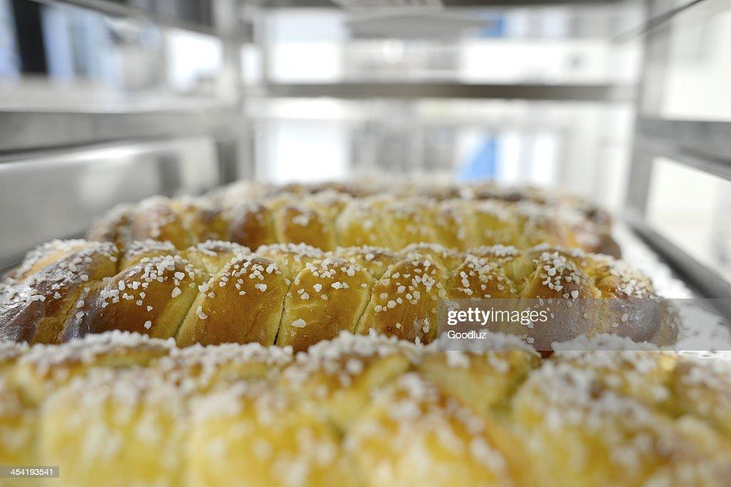 Vienense pastries são Assado : Foto de stock