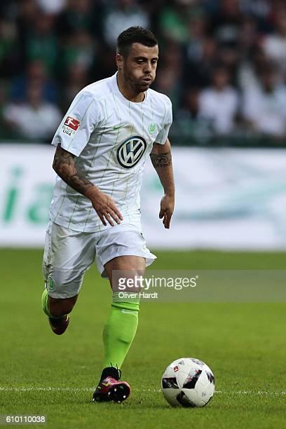 Vierinha Wolfsburg in action during the Bundesliga match between Werder Bremen and VfL Wolfsburg at Weserstadion on September 24 2016 in Bremen...