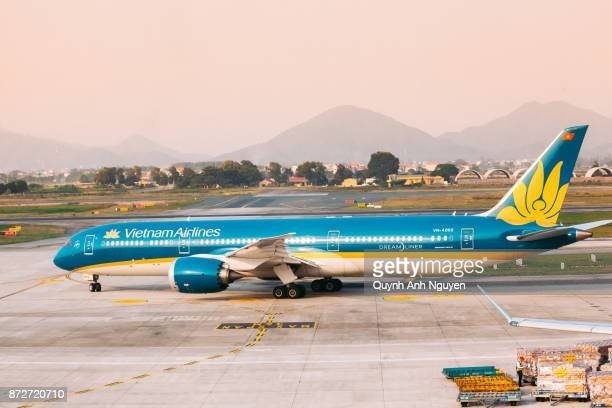 Vietnam Airlines aircraft at airport