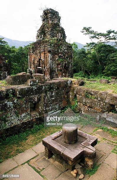 VNM Vietnam Asia My Son most important centre od Cham from 4 until 8 century first ChamCapital Simhapura UNESCO world cultural heritage Group BC...