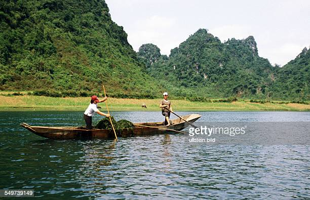 VNM Vietnam Asia Son River to the caves of Phong Nha UNESCO world cultural heritage