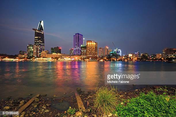 Vietnam, Ho Chi Minh City, Urban Landscape