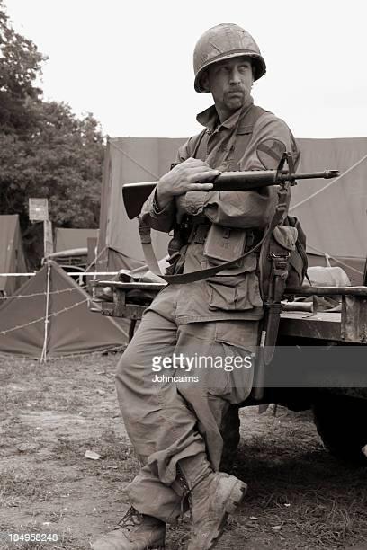 Vietnam Soldaten.