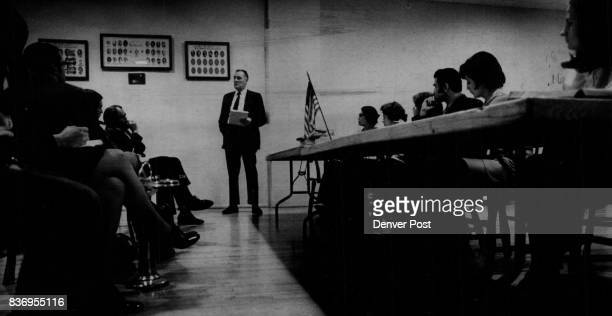 Vietnam * US Troops * Prisoners of War Bob Wenger Standing Outlines Campaign for student letter drive for Pow Support The social studies teacher at...