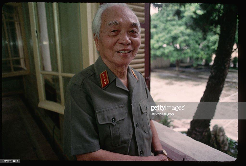 Vietnamese Army General Vo Nguyen Giap