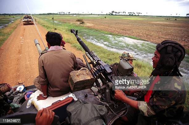 Vietnamese Colonel Leads Offensive By Hun Sen Army On July 1St 1997 In Siem ReapCambodia