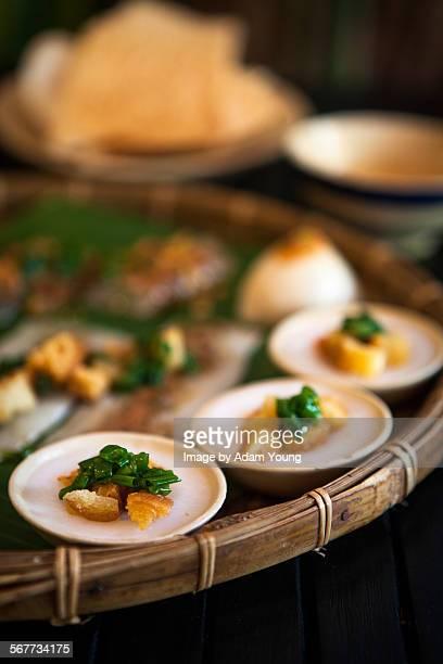 Vietnamese dish banh xeo hue