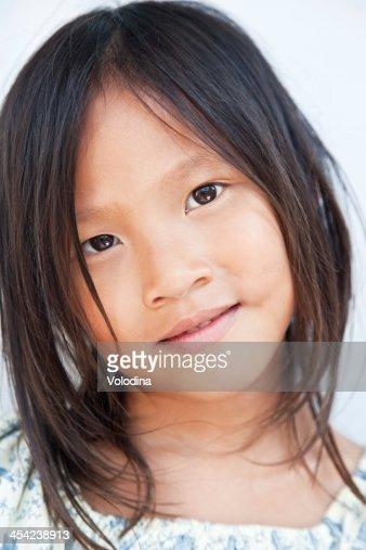 Vietnamese girl : Stock Photo