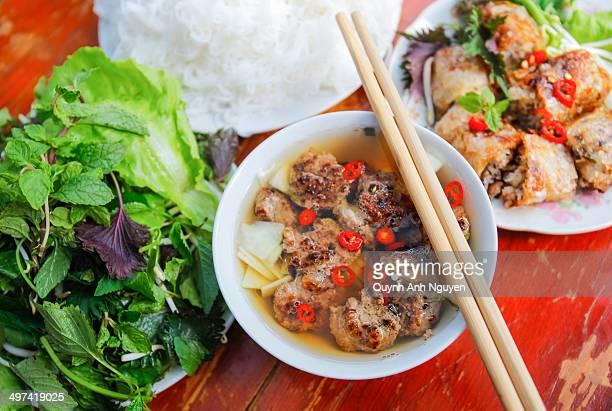 Vietnamese grilled pork vermicelli