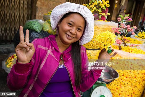 Vietnamese Market Vendor Cholon