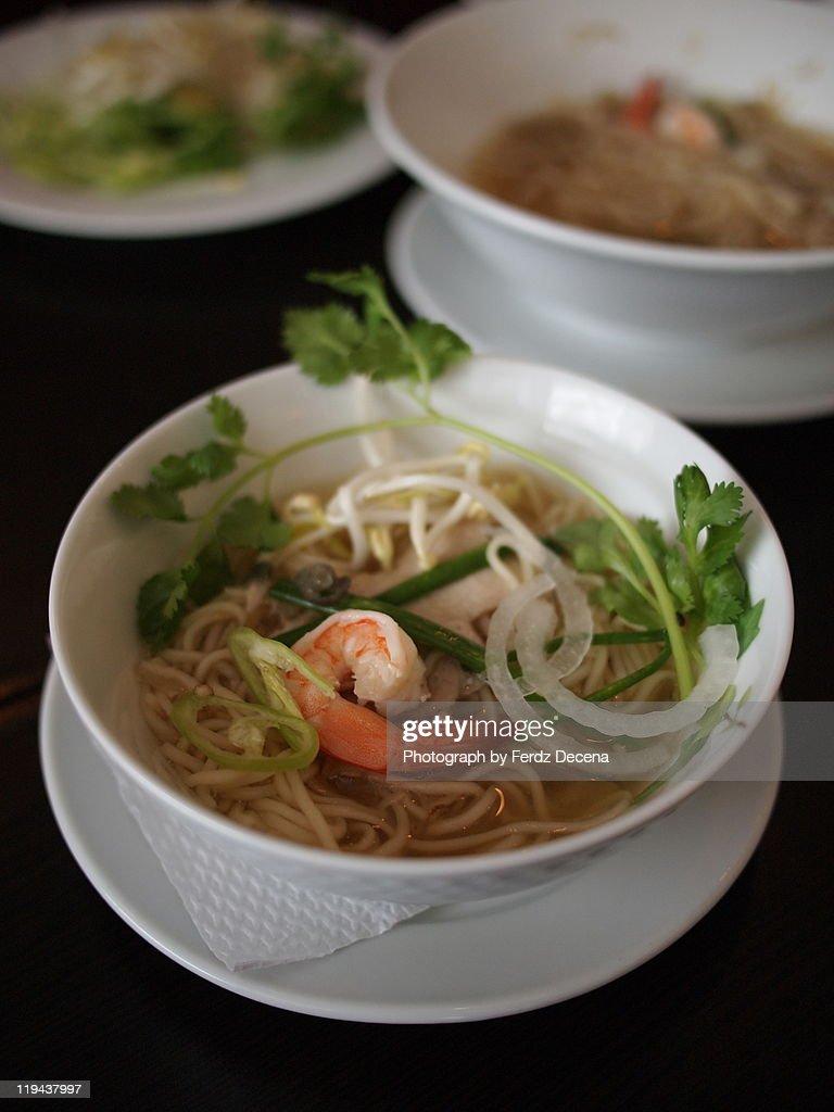 Vietnamese Noodles : Stock Photo