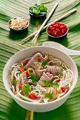 Vietnamese Pho beef broth, Vietnam