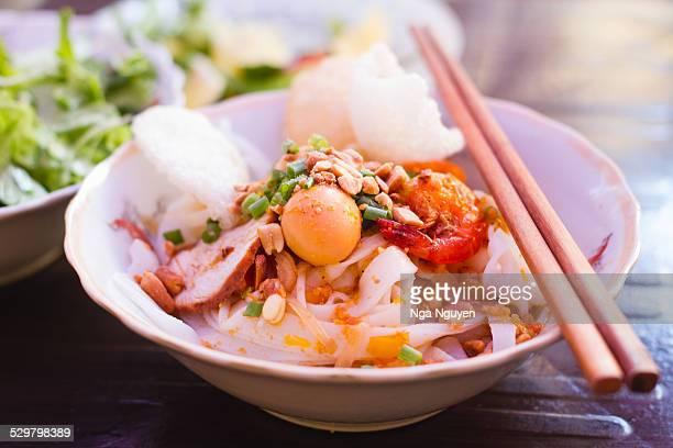 Vietnamese Quang noodle (Mi Quang)