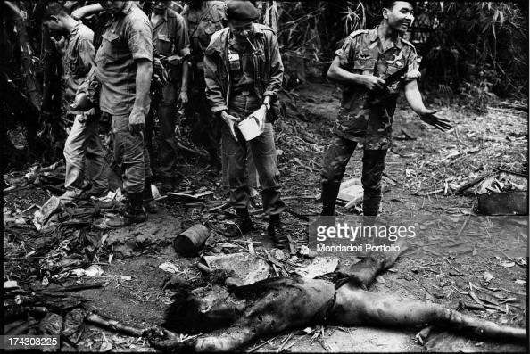 HUẾ Tet Offensive 1968 | A soldier, upper left, climbs