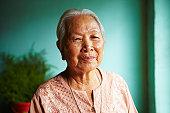 Vietnamese senior woman