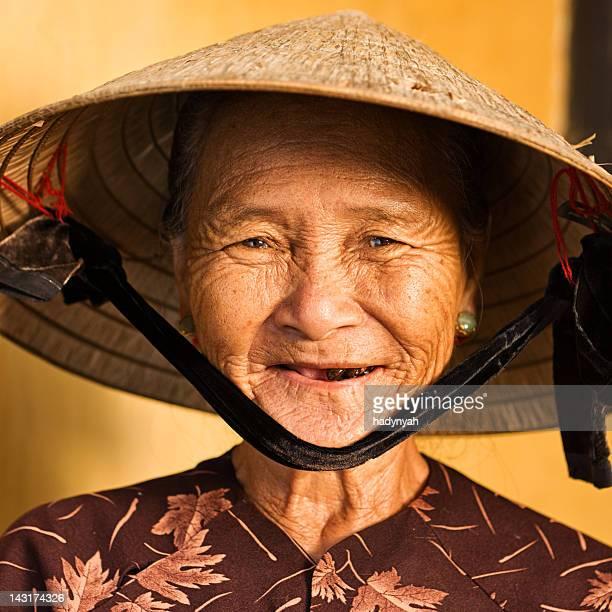 Vietnamienne Vendeur de souvenirs