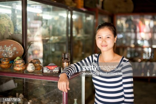 Vietnamese Young Adult Shopkeeper