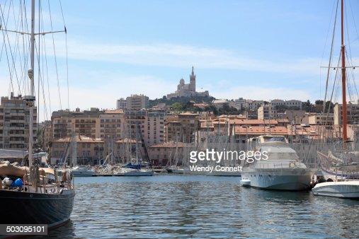 Vieux Port Basilica Marseille France