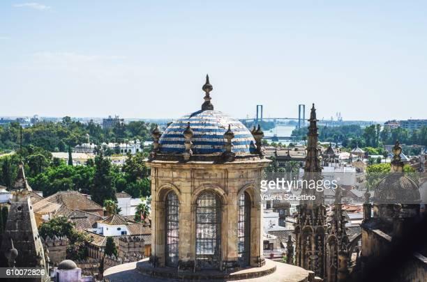View above Giralda, Sevilla