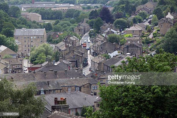 A view across Holmfirth West Yorkshire the location for the world's longest running sitcom Last of the Summer Wine which is to be axed by the BBC...
