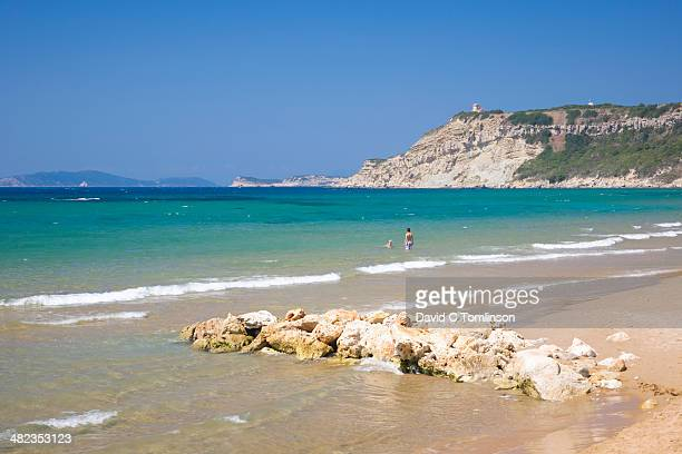 View across the bay, Arillas, Corfu, Greece