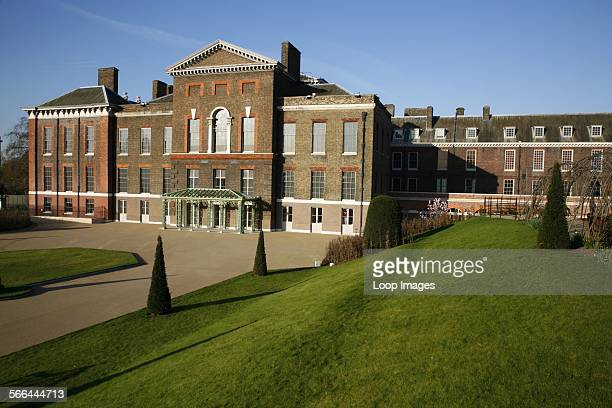 A view across the gardens to Kensington Palace
