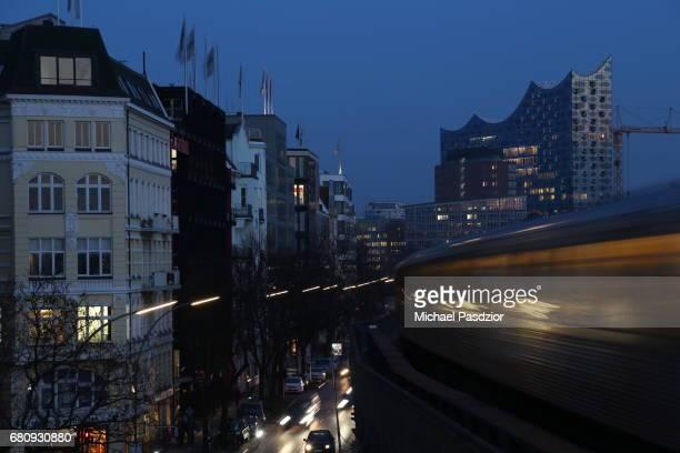 view at Elbphilharmonie