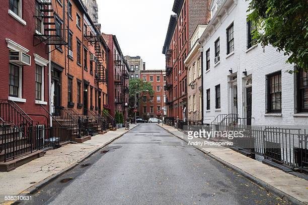 View down Gay Street, New York