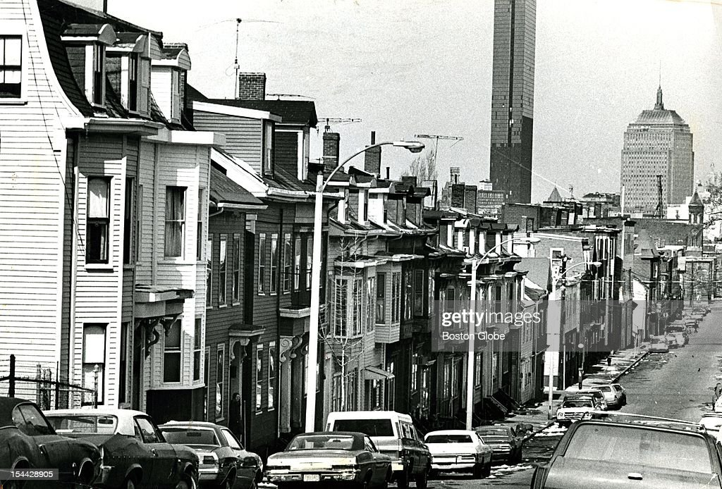 A view down West 5th Street in South Boston
