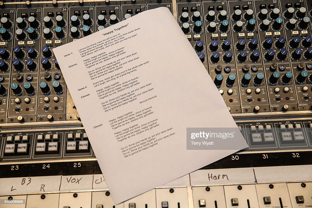 A view during Music Camp Studio Day with Ross Copperman and Carrie Underwood at Belmont University's Ocean Way Nashville Studios on June 27, 2016 in Nashville, Tennessee.