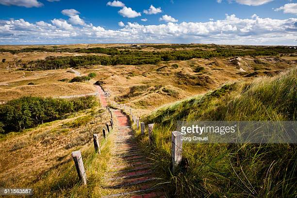 View from a dune over Norderney