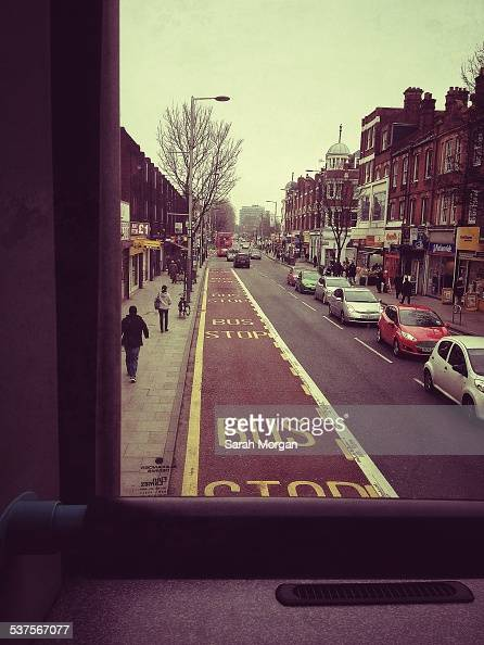 View from a London Bus