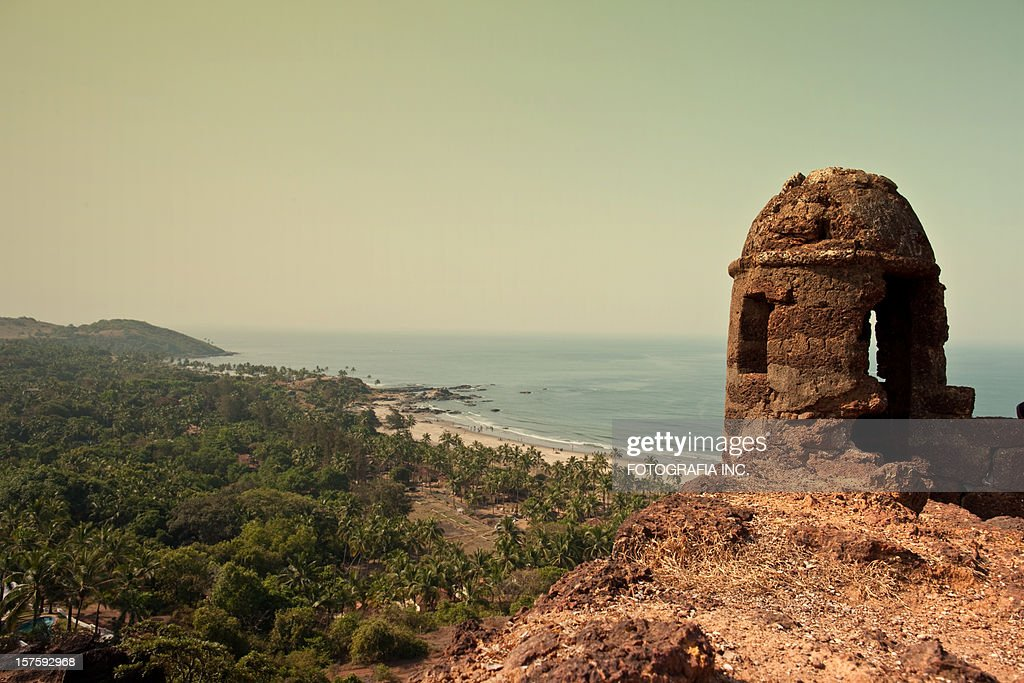 View from Aguada Fort : Stock Photo