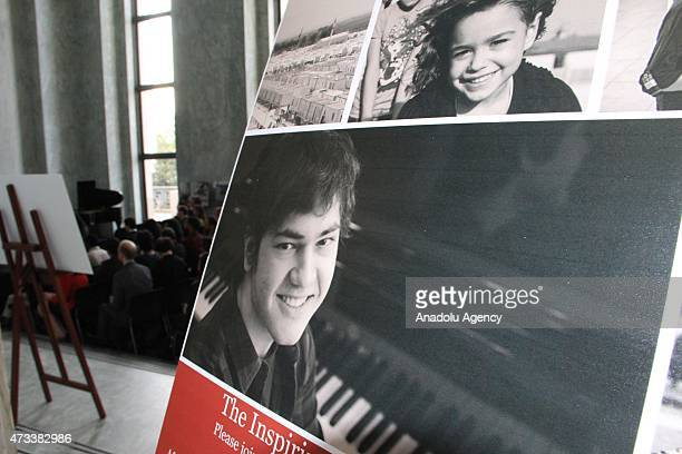 A view from an organization held to raise awareness of Syrian conflict including a piano recital performed by teenage pianist Tambi Asaad Cimuk on...