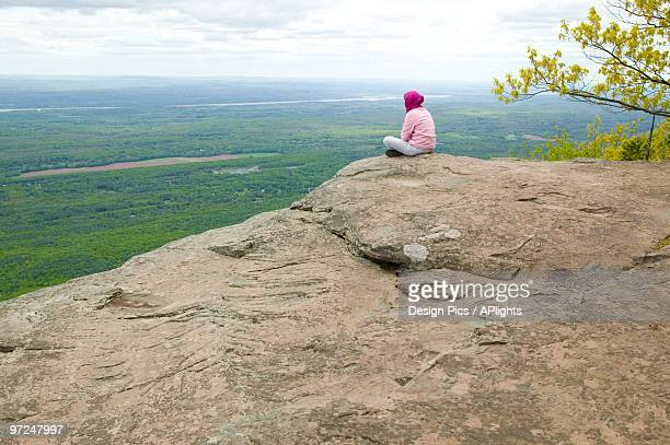 View from Artist Rock Catskill Mountains New York USA