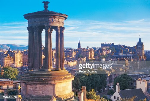 View From Carlton Hill, Edinburgh, Scotland, UK : Stock-Foto