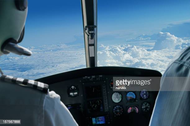 Blick vom Flugzeug Flugzeug