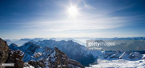 View from Mount Zugspitze