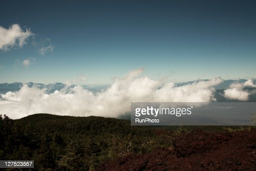 view from Mt.Fuji : Stock Photo
