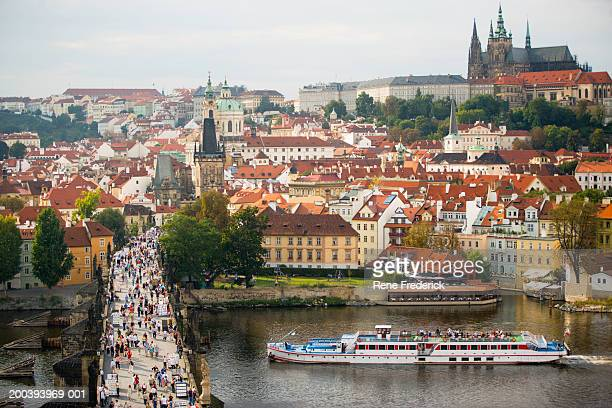 View from Old Town Bridge Tower, Prague, Czech Republic