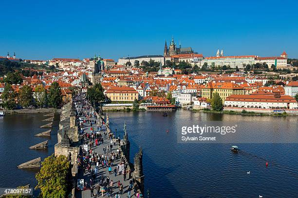 View from Old Town Bridge Tower, Prague