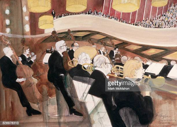 View from Orchestra Pit Concert at Teatro Comunale by Franklin McMahon
