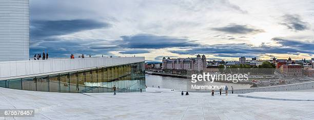 View from Oslo Opera House (Operahuset)