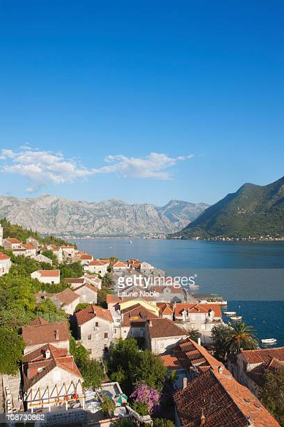 View from Perast church tower