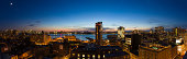 View from roof of hotel Gansevoort, Manhattan