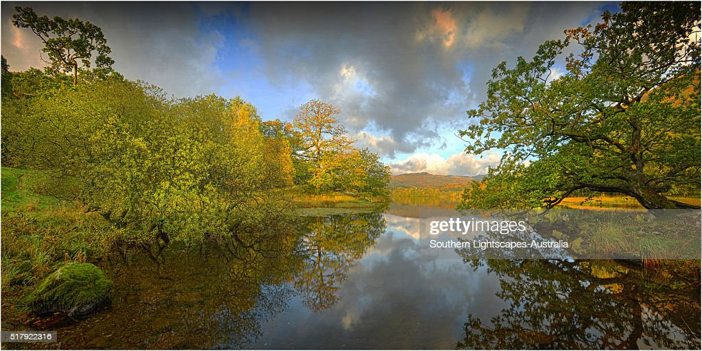 A view from Rydal water, Lake district, Cumbria, England, United Kingdom