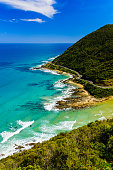 View from Teddy's lookout at Lorne, Great Ocean Road