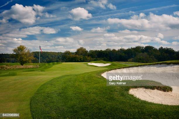A view from the 12th hole of Trump National Golf Club on October 12 2016 in Sterling Virgina
